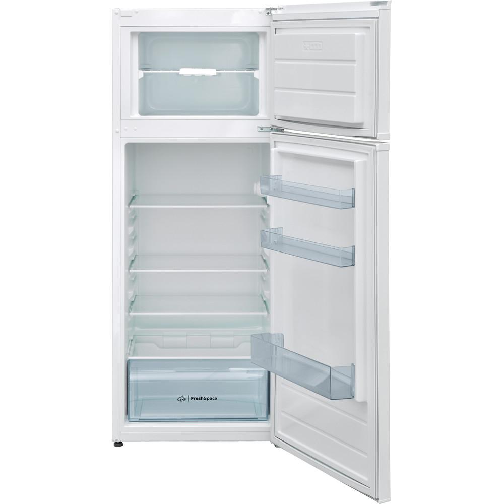 Indesit Kombinovaná chladnička s mrazničkou Voľne stojace I55TM 4120 W Biela 2 doors Frontal open