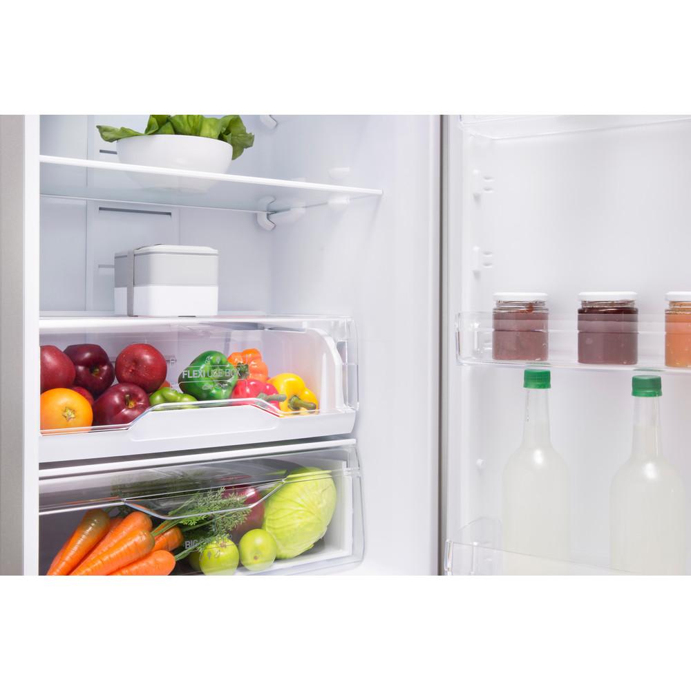 Indesit Холодильник с морозильной камерой Отдельно стоящий LI8 FF2 S Серебристый 2 doors Drawer