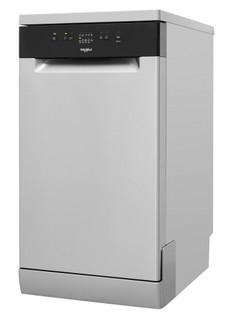 Lave-vaisselle Whirlpool: couleur inox, petite largeur - WSFE 2B19 X