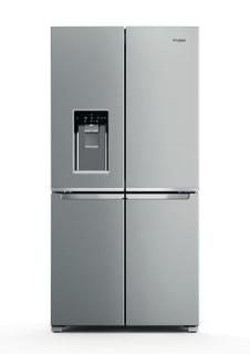Whirlpool side-by-side amerikansk køleskab: inox-farve - WQ9I MO1L