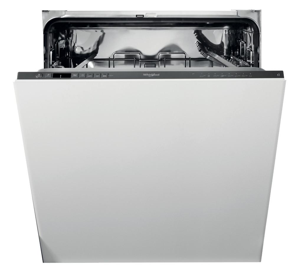 Whirlpool Indaplovė Įmontuojamas WIC 3C26 N Full-integrated E Frontal
