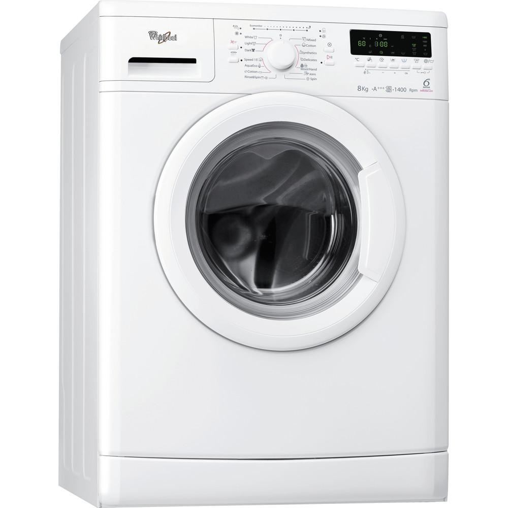 Whirlpool frontmatad tvättmaskin: 8 kg - AWO/D 8244