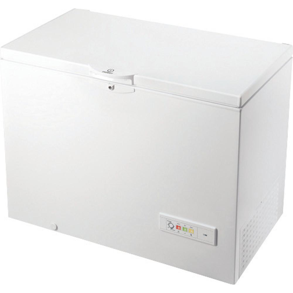 Indesit Морозильная камера Отдельно стоящий OS 1A 300 H 2 Белый Perspective