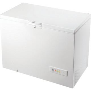 Indesit Congelador Libre instalación OS 1A 300 H 2 Blanco Perspective
