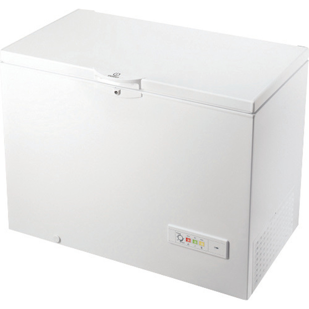 Indesit Frys Fristående OS 1A 300 H 2 White Perspective