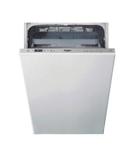 Съдомиялна за вграждане Whirlpool: Slimline, сребрист цвят - WSIC 3M27 C