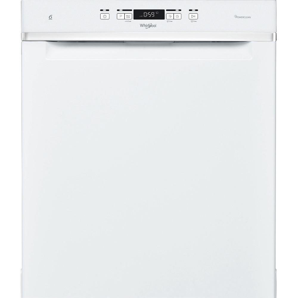 Whirlpool diskmaskin: färg vit, 60 cm - WUC 3T133 PF