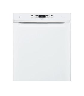 Whirlpool-opvaskemaskine: hvid farve, fuld størrelse - WUC 3T133 PF