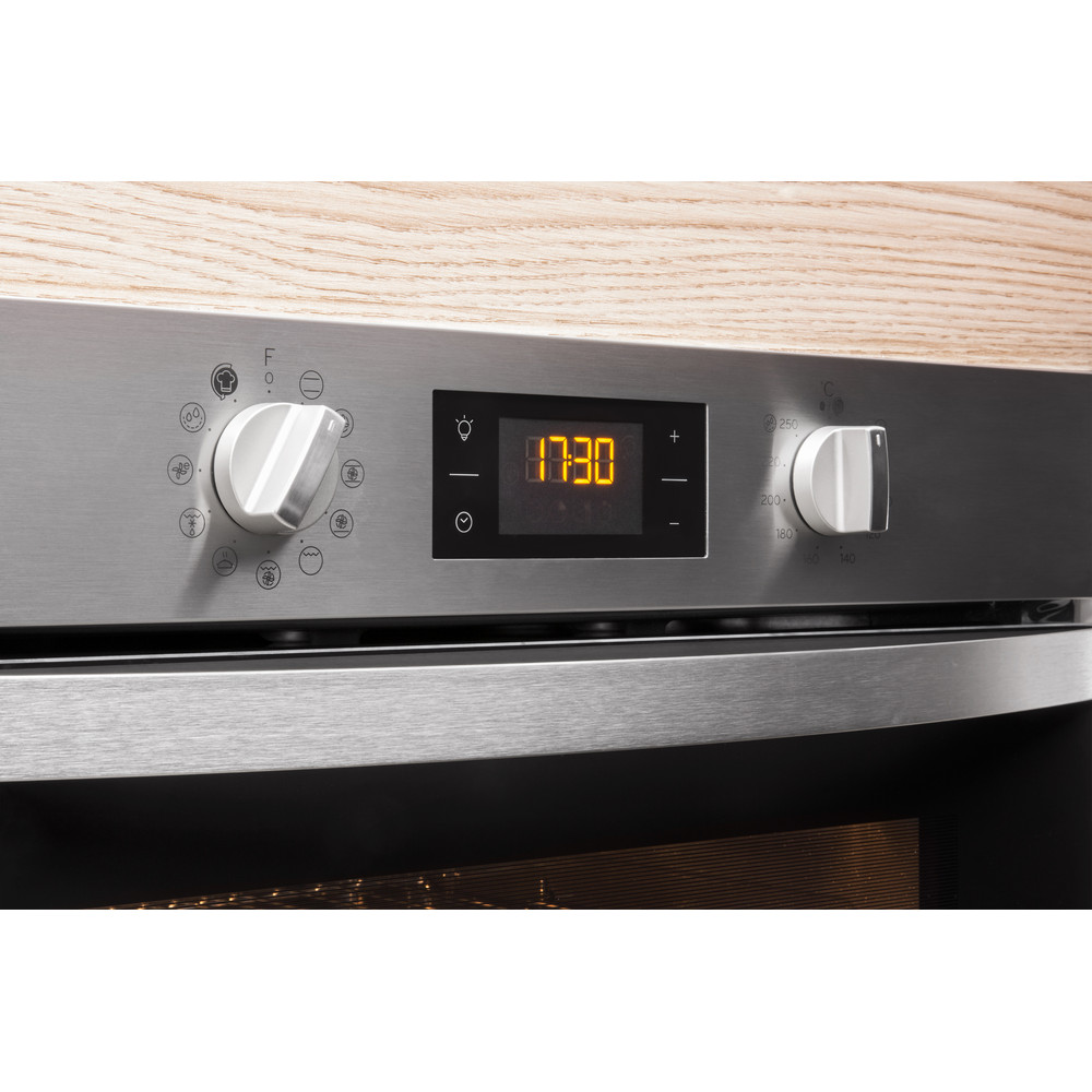 Indesit OVEN Built-in IFW 4844 H BL UK Electric A+ Lifestyle control panel