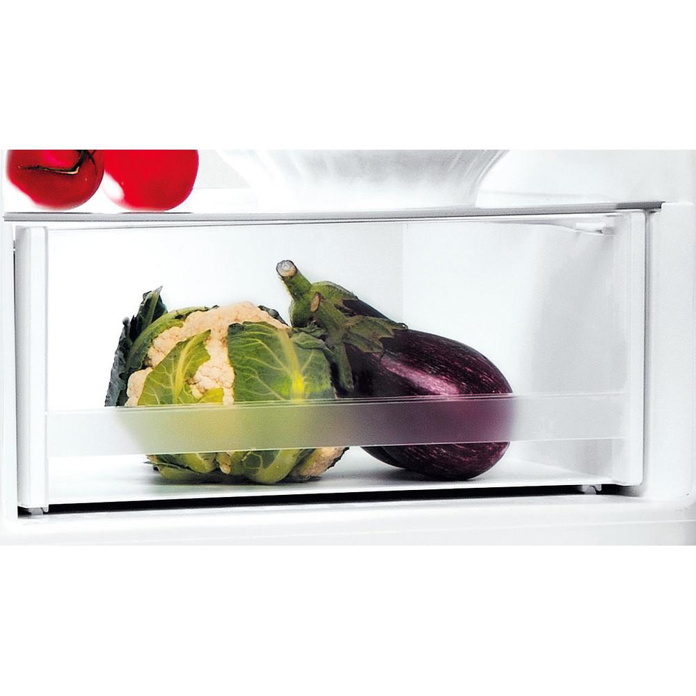 Indesit Réfrigérateur combiné Pose-libre LI7 S1E W Blanc 2 portes Drawer