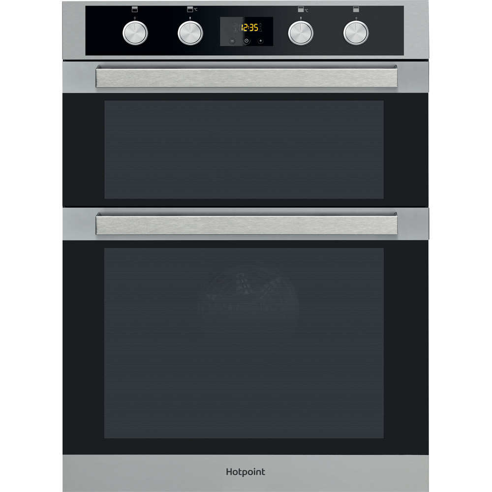 Hotpoint Double oven DKD5 841 J C IX Inox A Frontal