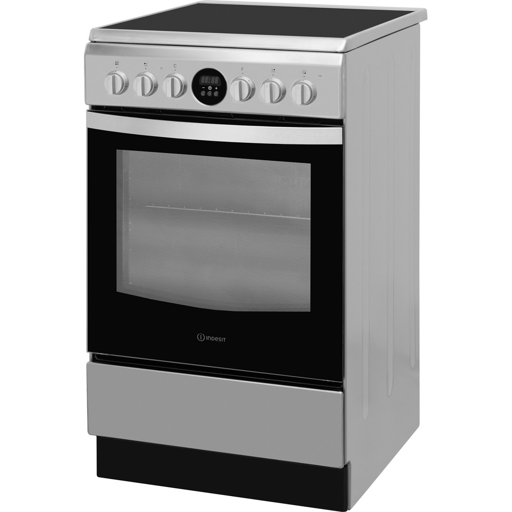 Indesit Tűzhely IS5V5CCX/EU Inox Electrical Perspective