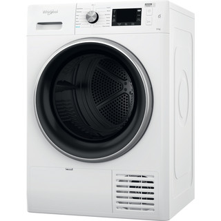 Whirlpool Dryer FFT M22 9X2B UK White Perspective