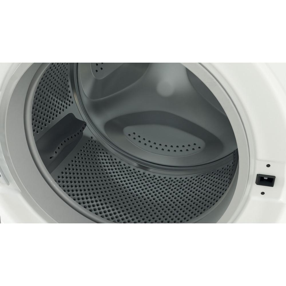 Indesit Стиральная машина Отдельностоящий BWSE 81082 L Белый Фронтальная загрузка A Drum
