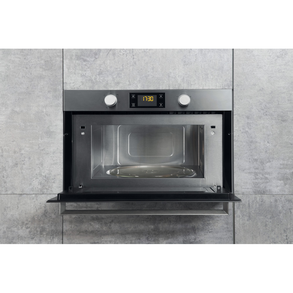 Hotpoint Built In Microwave Oven Inox Md 344 Ix H