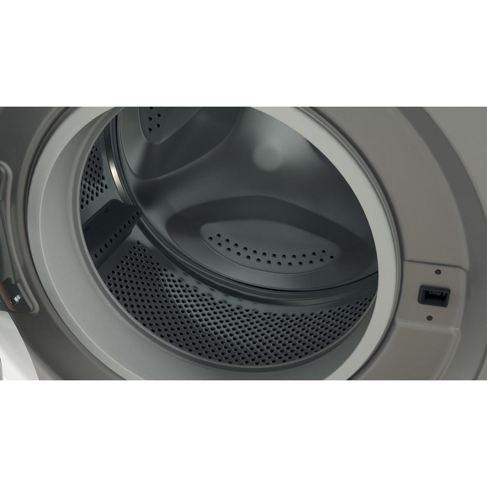 Indesit Washing machine Free-standing BWE 71452 S UK N Silver Front loader E Drum
