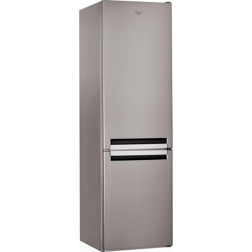 Холодильник Whirlpool з нижньою морозильною камерою соло: з системою frost free - BSNF 9121 OX