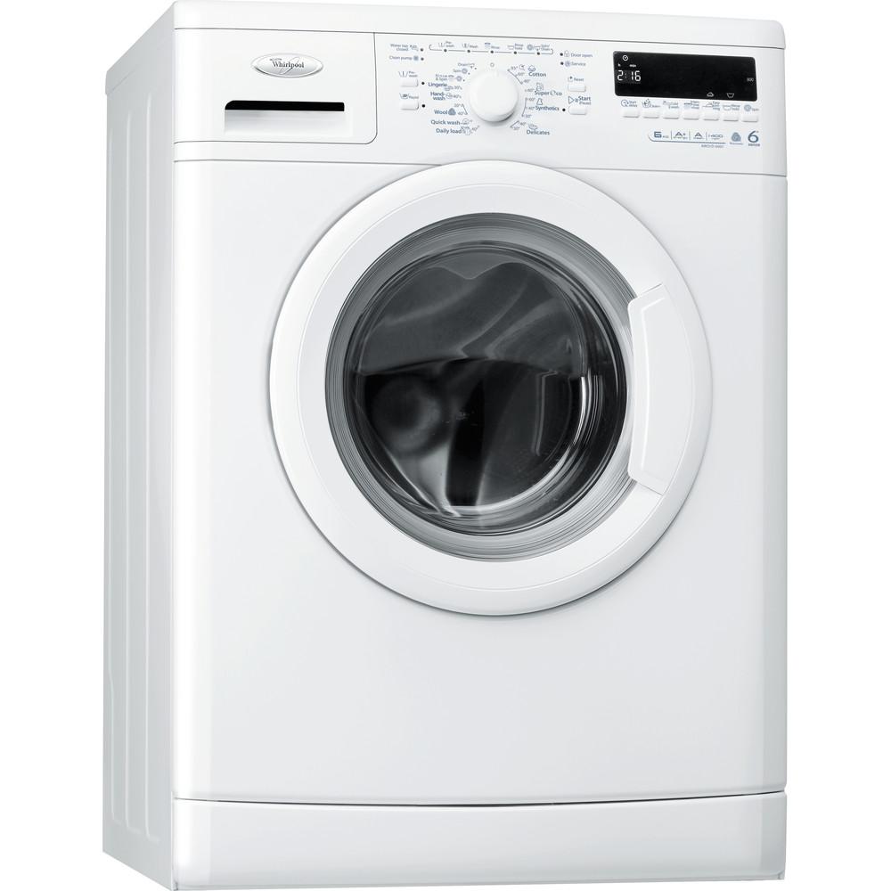 Whirlpool frontmatad tvättmaskin: 6 kg - AWO/D 6001