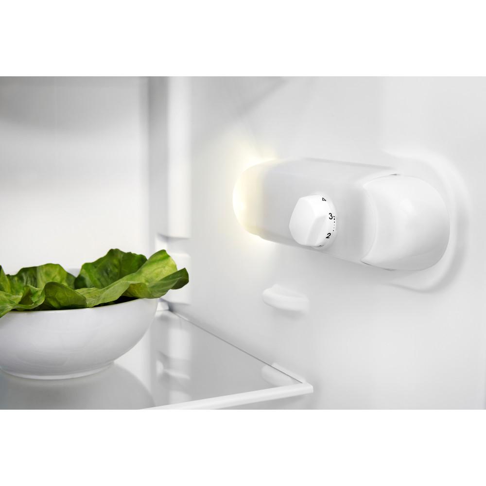 Indesit Réfrigérateur Pose-libre SI6 1 S Argent Lifestyle control panel