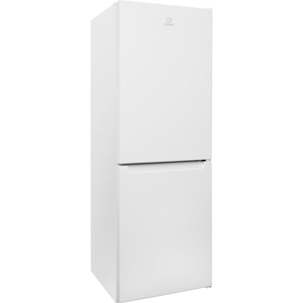 Indesit Kombinovaná chladnička s mrazničkou Volně stojící LR7 S2 W Bílá 2 doors Perspective