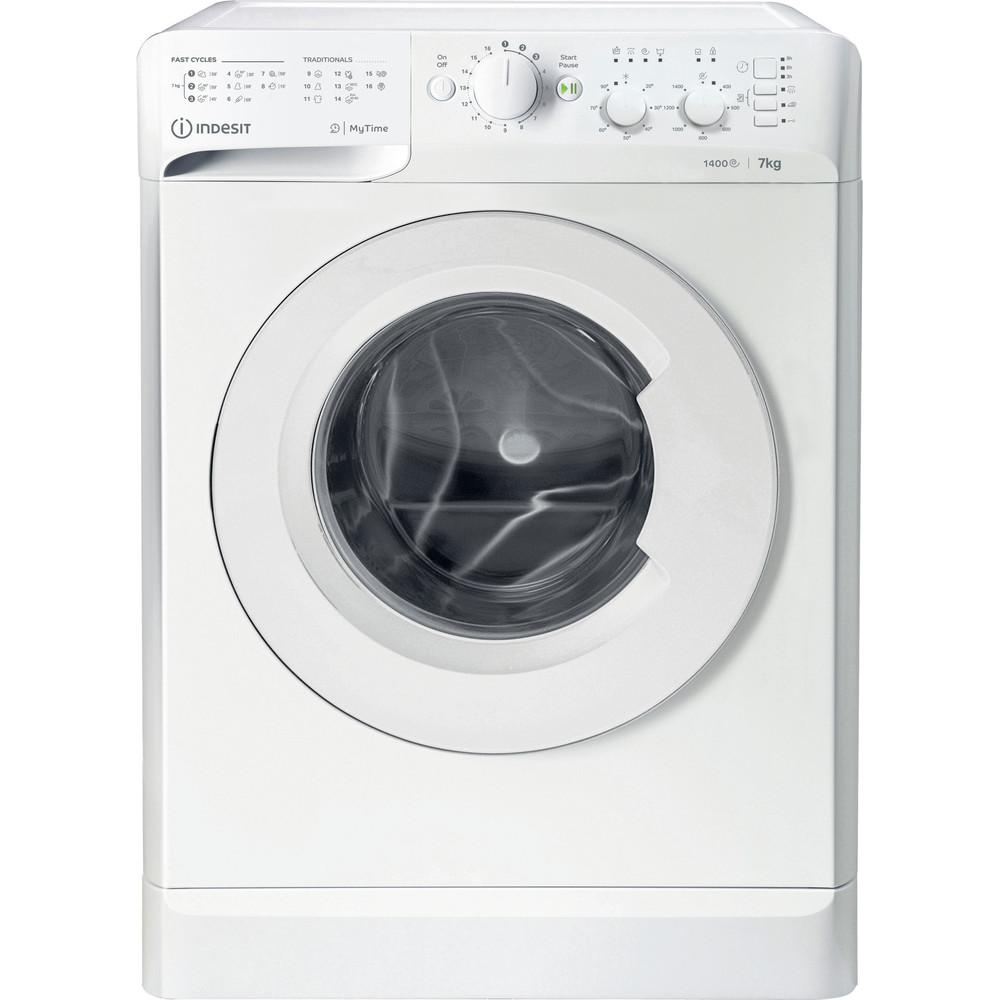 Indesit Tvättmaskin Fristående MTWC 71452 W EU White Front loader E Frontal