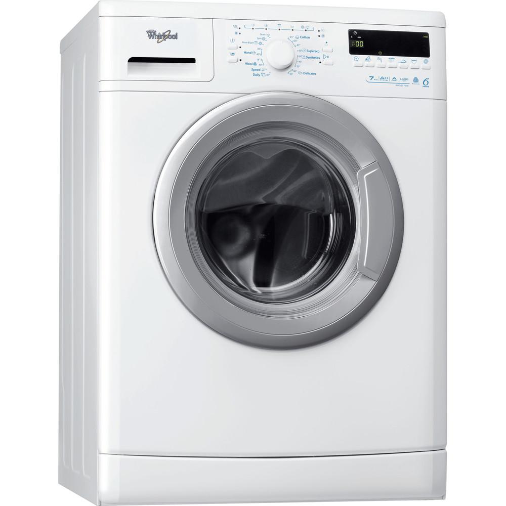 Whirlpool frontmatad tvättmaskin: 7 kg - AWO/D 7000