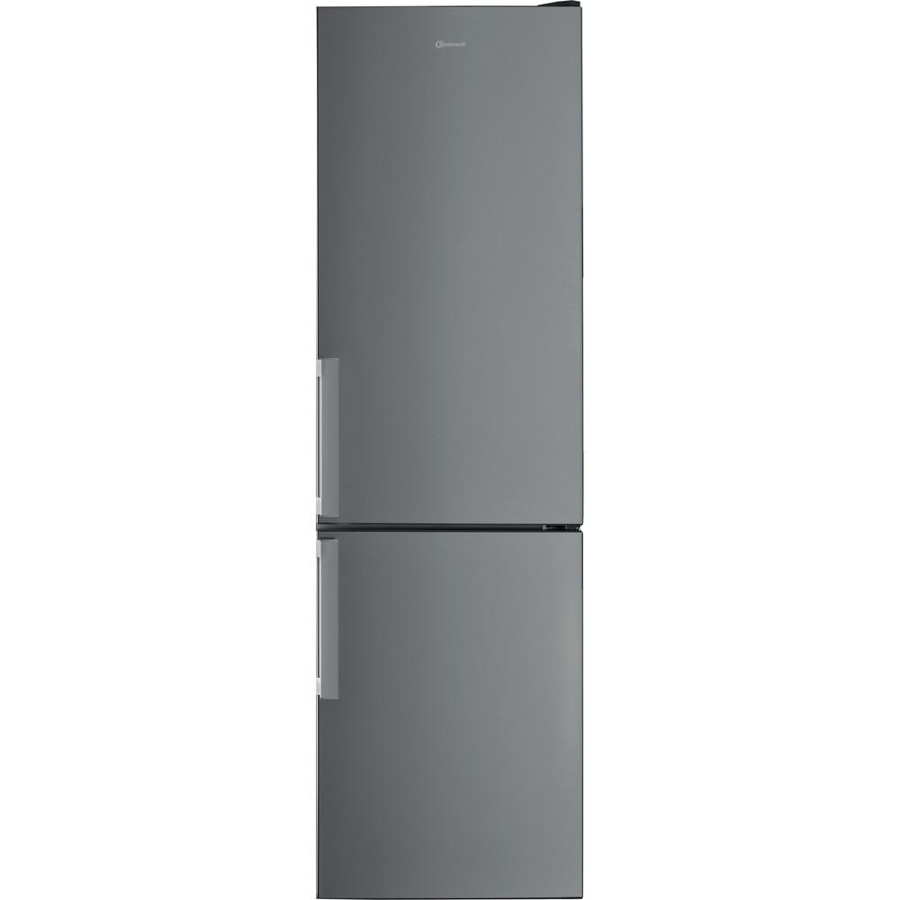 Bauknecht Kühl- / Gefrierkombination Standgerät KGSF 202G IN 2 Optic Inox 2 doors Frontal