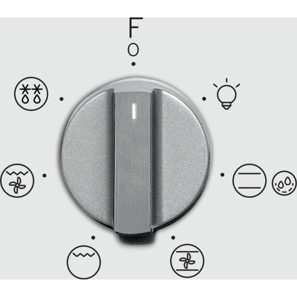 Indesit Forno Da incasso IFW 4534 H WH Elettrico A Control panel