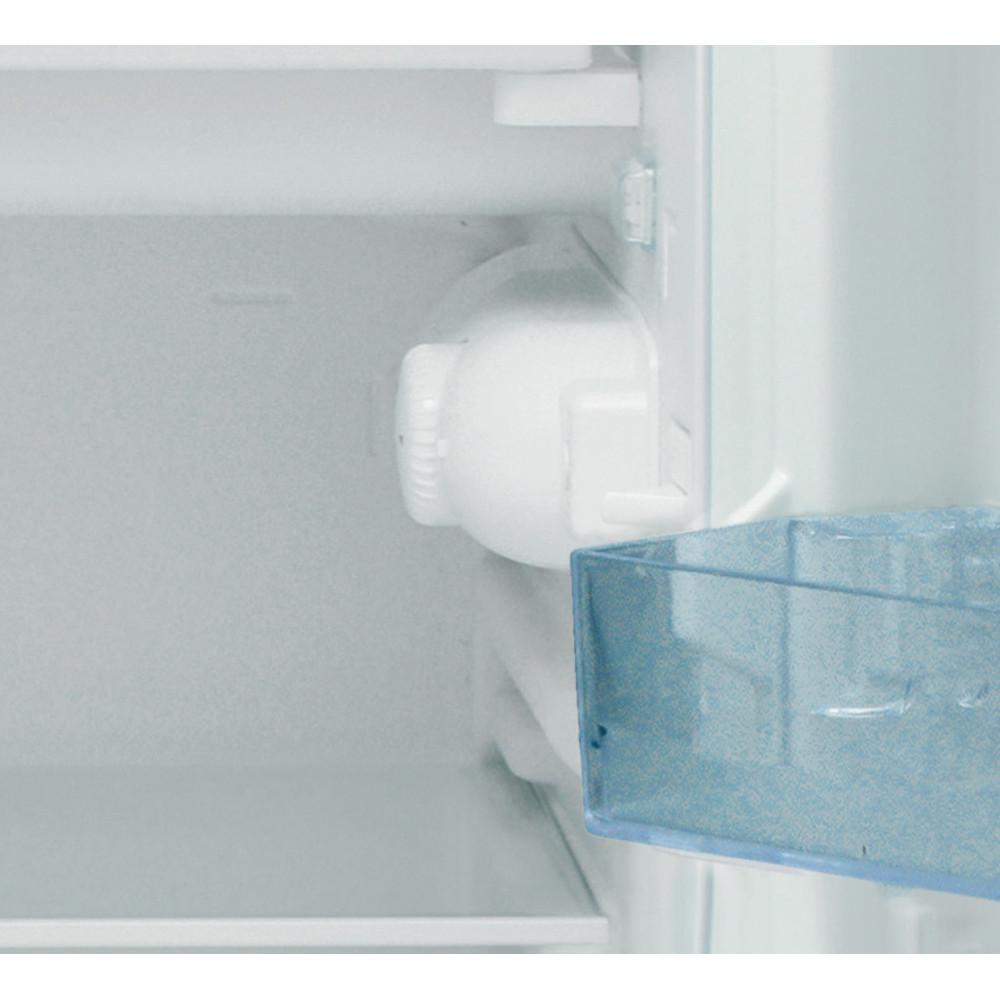 Indesit Refrigerator Free-standing I55VM 1110 S UK 1 Silver Control panel