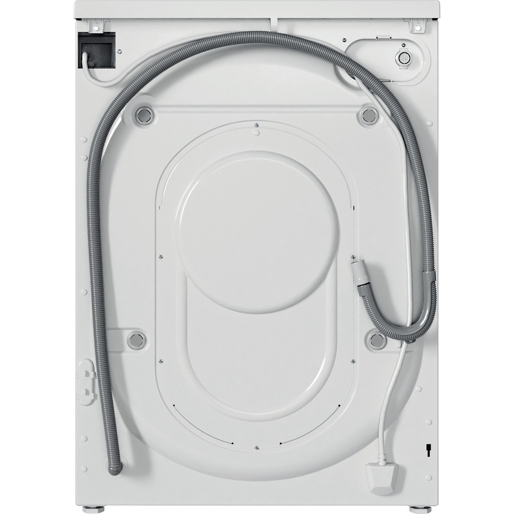 Indesit Washer dryer Free-standing IWDC 65125 UK N White Front loader Back / Lateral