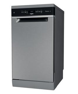 Whirlpool mosogatógép: Inox szín, keskeny - WSFO 3T125 6PC X