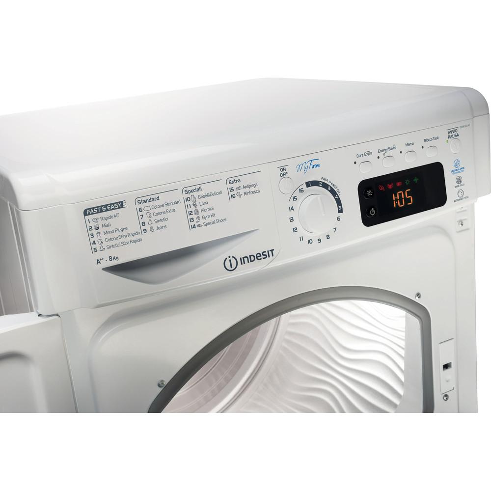Indesit Asciugabiancheria EDPE G45 A2 ECO (IT) Bianco Control panel