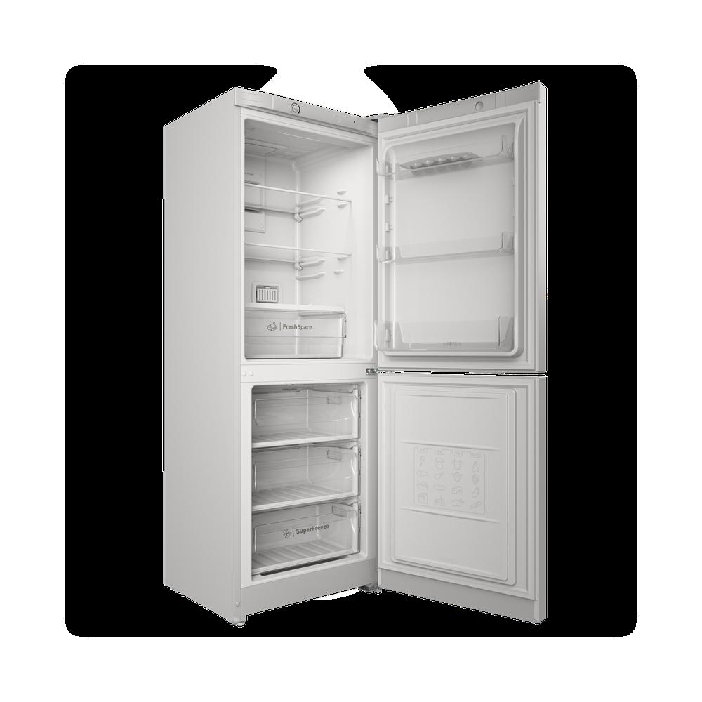 Indesit Холодильник с морозильной камерой Отдельностоящий ITS 4160 W Белый 2 doors Perspective open
