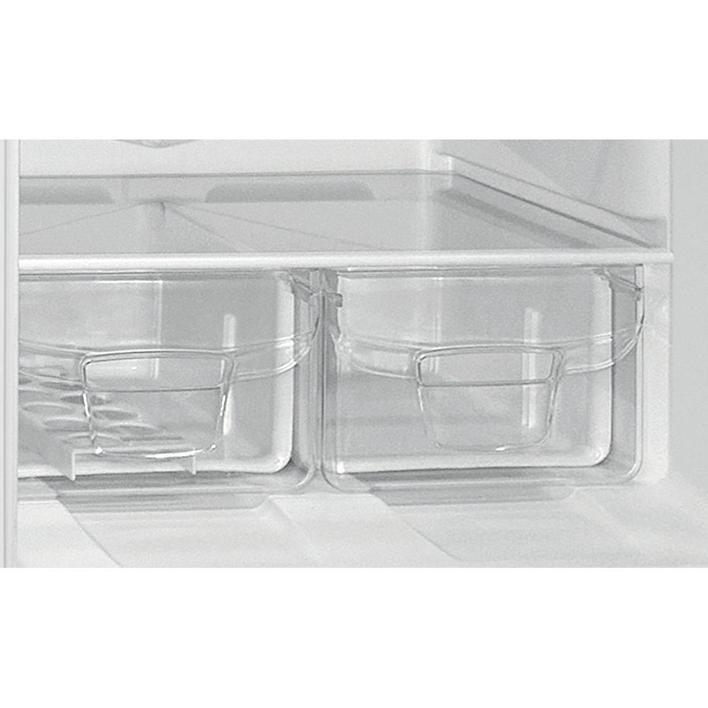 Indesit Холодильник с морозильной камерой Отдельностоящий ES 20 Белый 2 doors Drawer