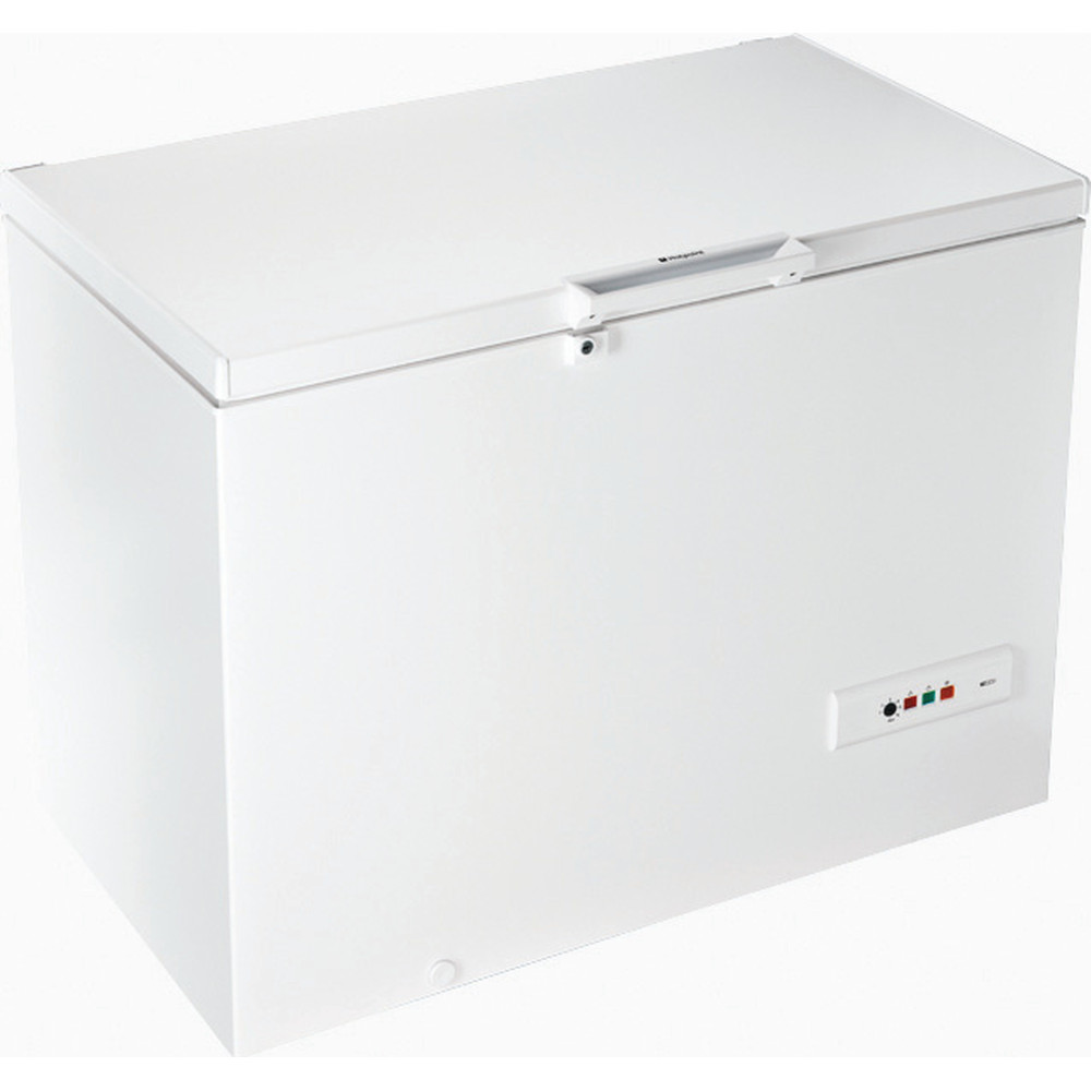 Hotpoint Freezer Free-standing CS1A 300 H FA 1 White Perspective
