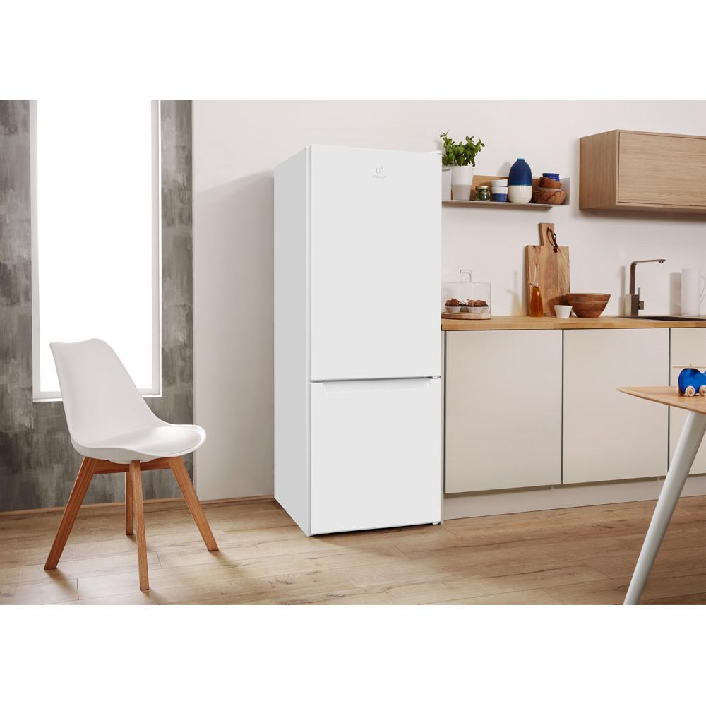 Indesit Холодильник с морозильной камерой Отдельно стоящий LR6 S1 W Белый 2 doors Lifestyle perspective