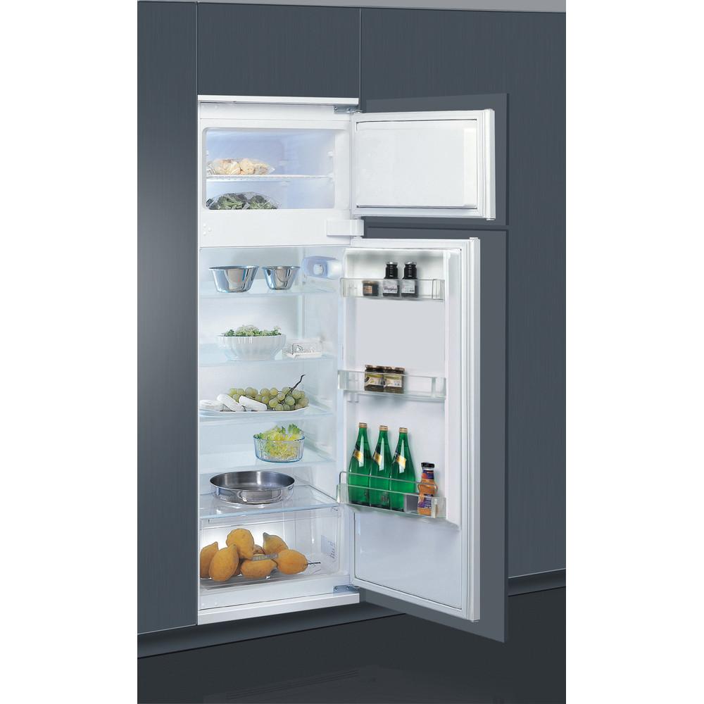 Whirlpool ART 3801 Dubbeldeurs koelkast - Inbouw