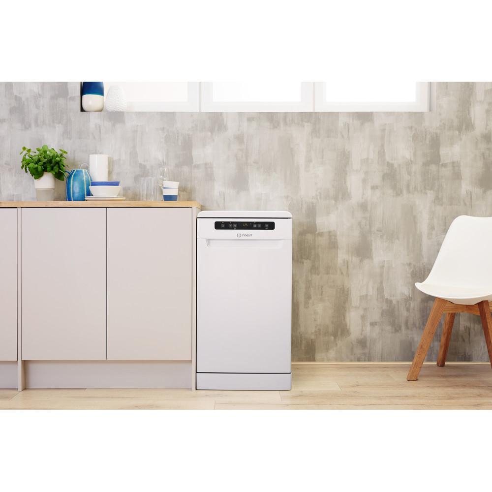 Indesit Посудомоечная машина Отдельностоящий DSFC 3T117 Отдельностоящий A Lifestyle frontal