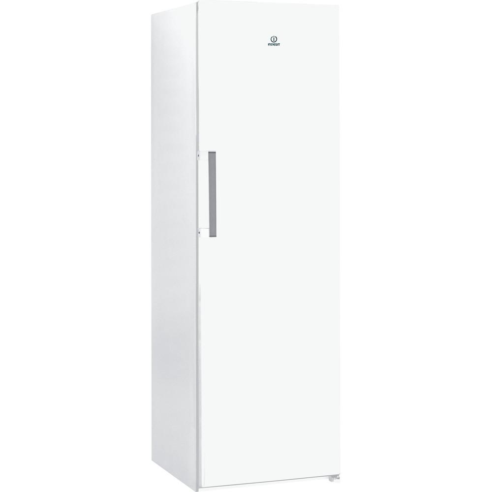 Indesit Réfrigérateur Pose-libre SI6 1 W Blanc Perspective