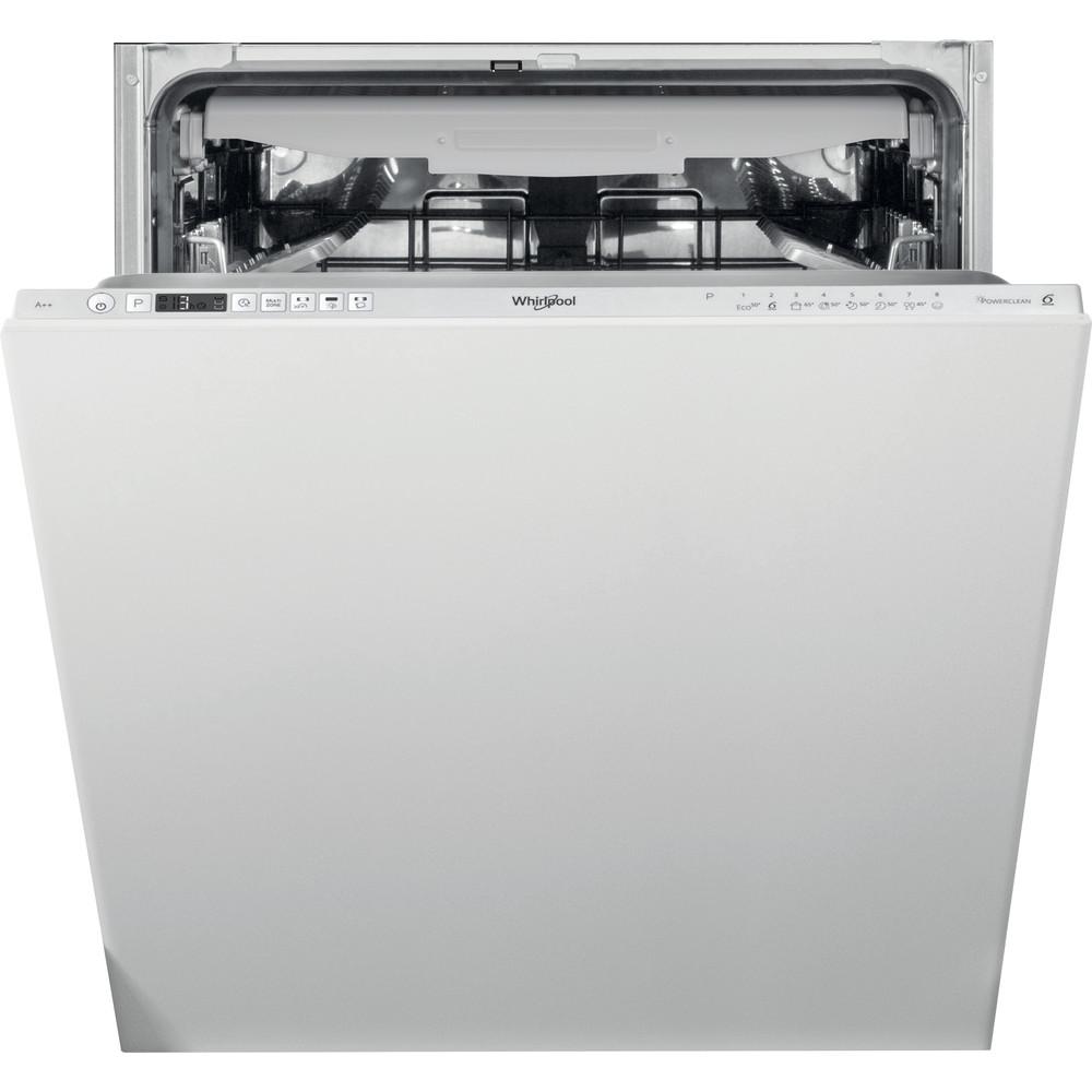 Lavavajillas integrable Whirlpool: color silver, 60 cm - WIC 3C26 PF