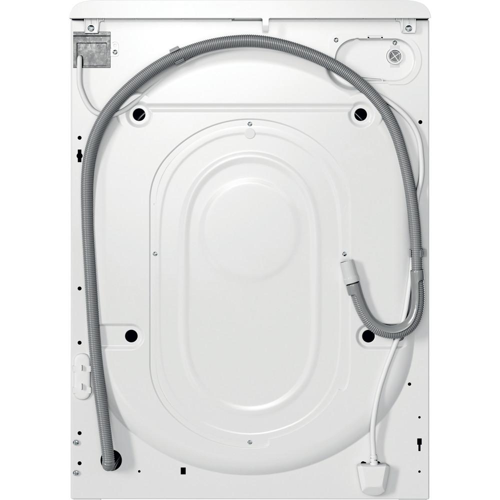 Indsit Maşină de spălat rufe Independent MTWA 71252 W EE Alb Încărcare frontală E Back / Lateral