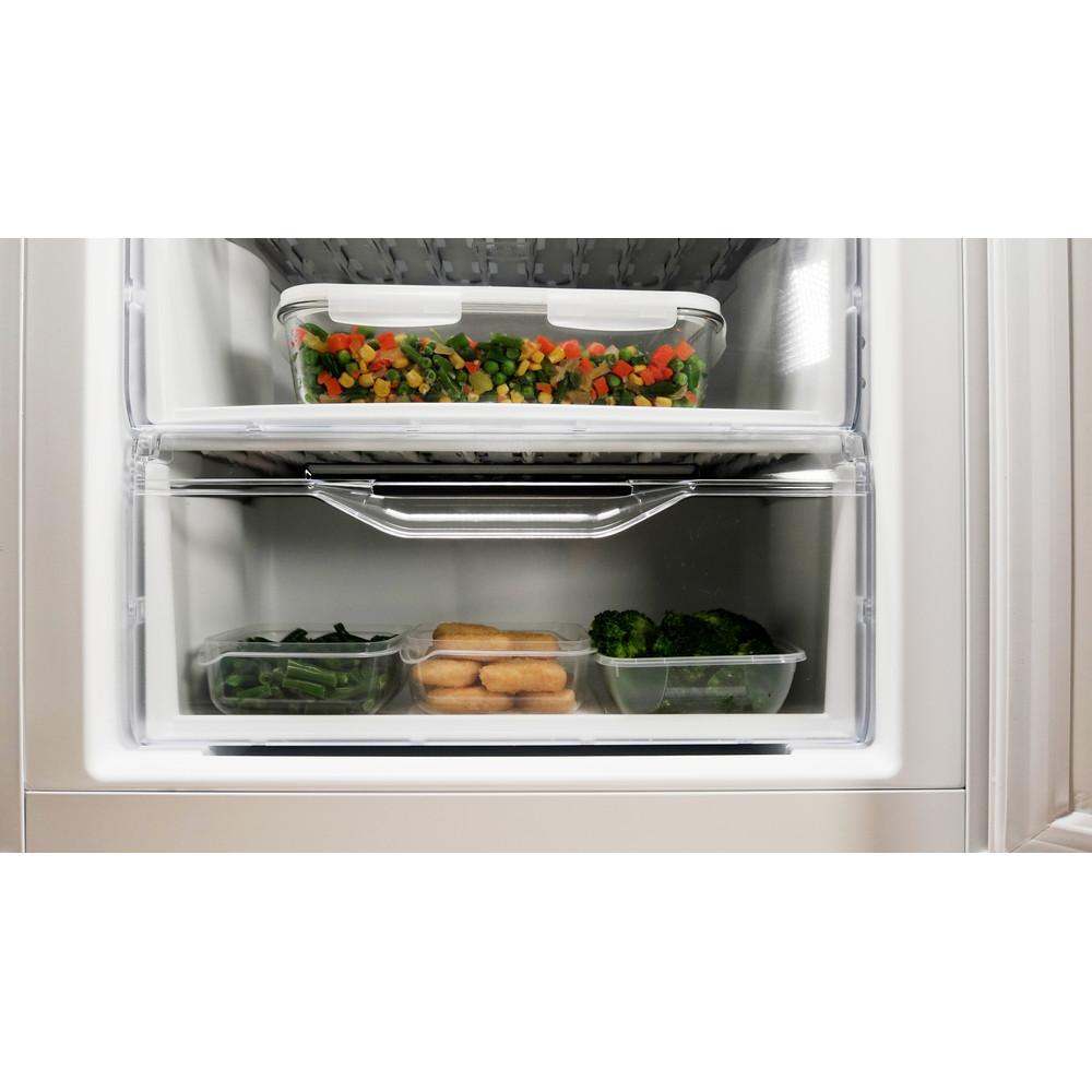 Indesit Холодильник с морозильной камерой Отдельностоящий DSN 20 Белый 2 doors Drawer