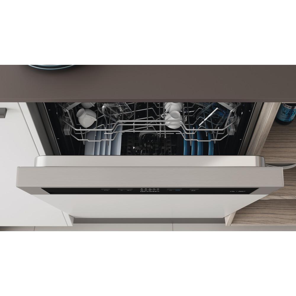 Indesit Vaatwasser Inbouw DBE 2B19 A X Geïntegreerd F Lifestyle control panel