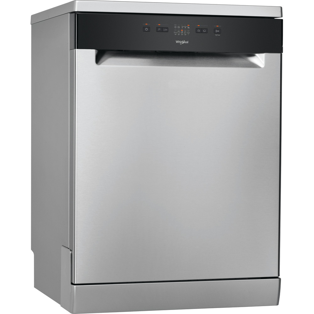 Посудомийна машина Whirlpool: колір нержавіючої сталі, повногабаритна - WFE 2B19 X