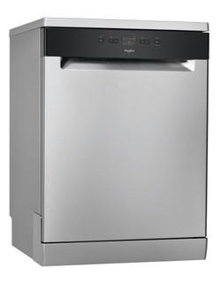 Whirlpool dishwasher: inox color, full size - WFE 2B19 X