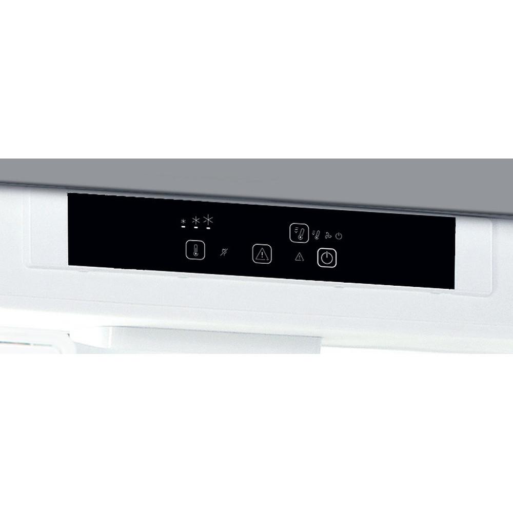 Indesit Combinazione Frigorifero/Congelatore Da incasso IND 400 Bianco 2 porte Control panel