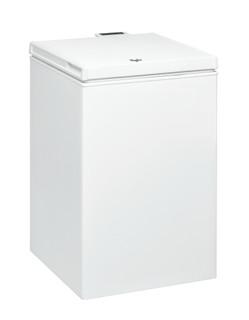 Fritstående Whirlpool-kummefryser: hvid farve - WHS1021 2