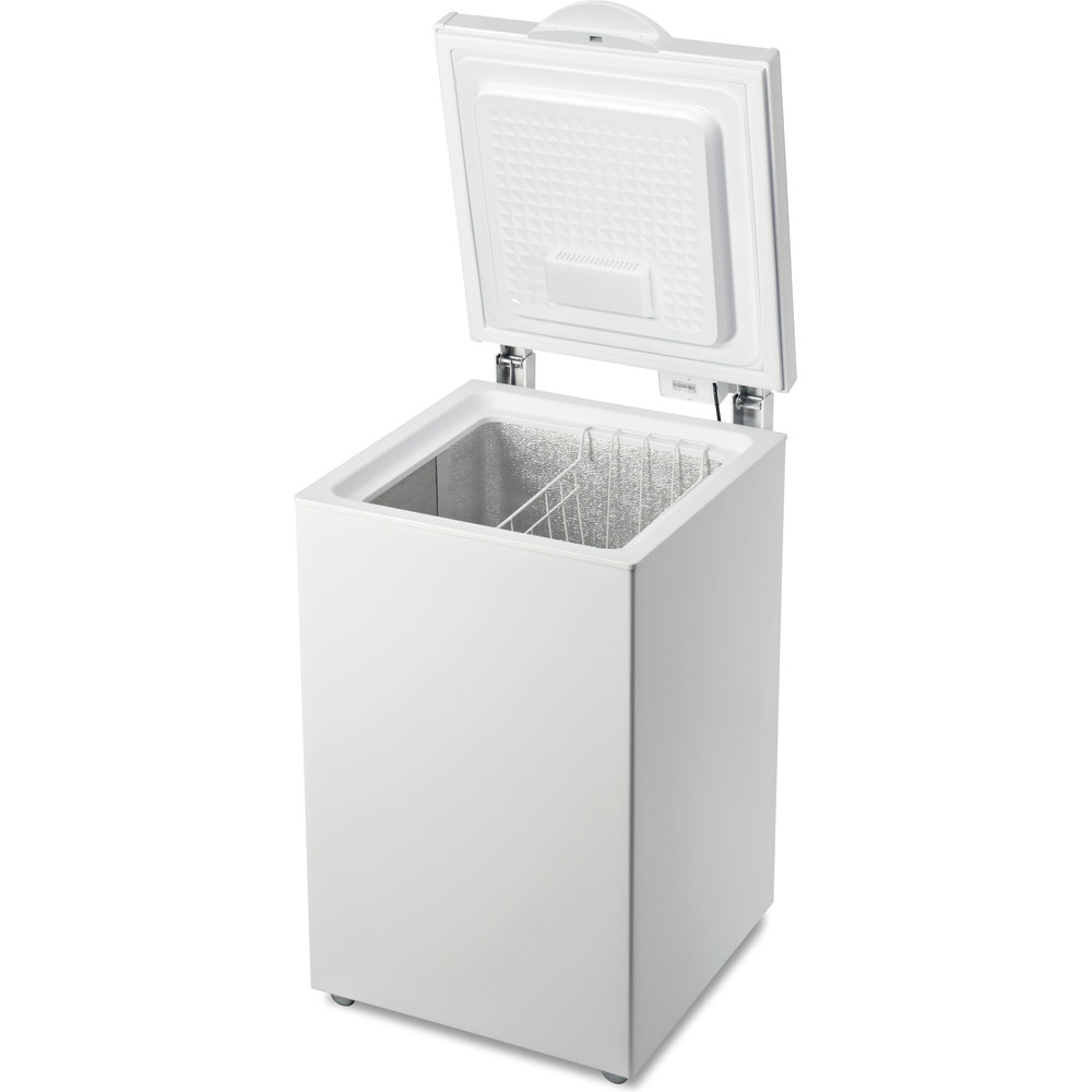 Indesit Congelatore A libera installazione OS 1A 140 H Bianco Perspective open