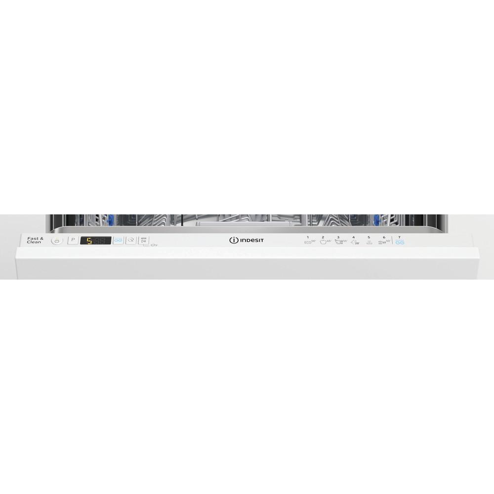 Indesit Lave-vaisselle Encastrable DIC 3B+16 A S Tout intégrable F Control panel