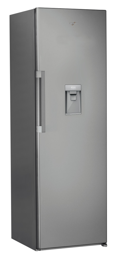 Whirlpool Refrigerator Free-standing SW8 AM1Q XWR Optic Inox Perspective